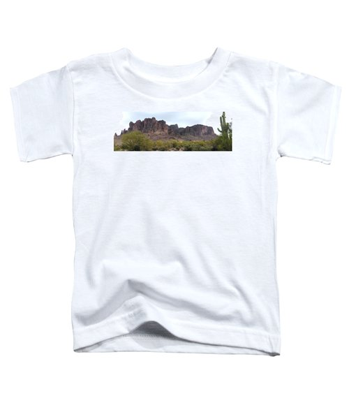 Flatiron Of The Superstition Mountains Toddler T-Shirt