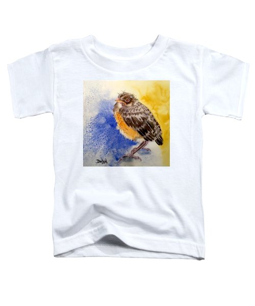 Fledgling Robin Toddler T-Shirt