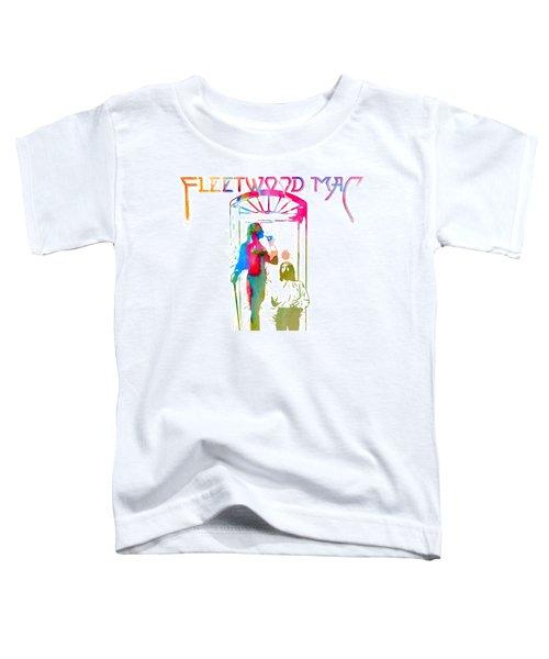 Fleetwood Mac Album Cover Watercolor Toddler T-Shirt
