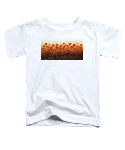 Flores De Mi Jardin Toddler T-Shirt