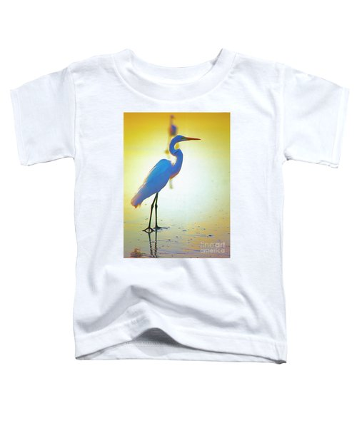 Florida Atlantic Beach Ocean Birds  Toddler T-Shirt