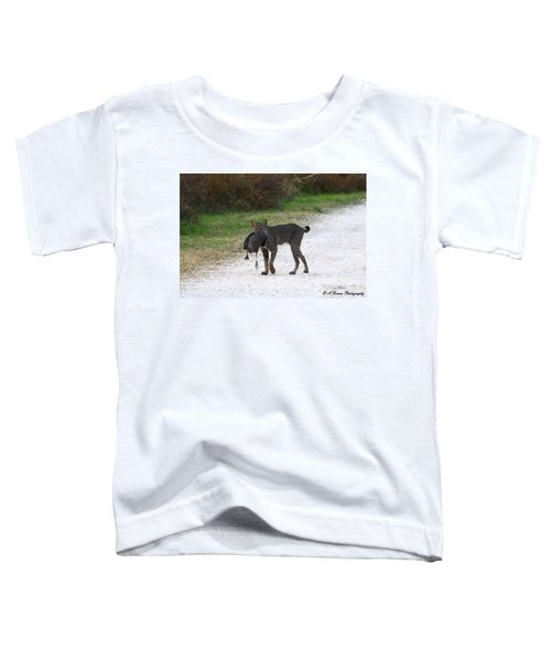 Florida Bobcat Catches An Evening Snack Toddler T-Shirt
