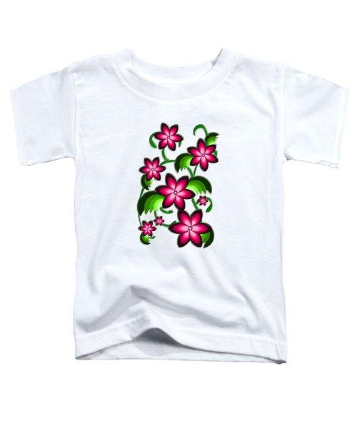 Flower Arrangement Toddler T-Shirt