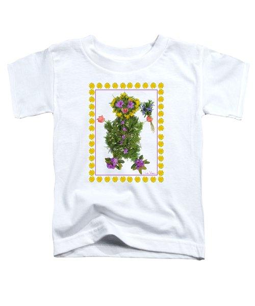 Flower Baby Toddler T-Shirt