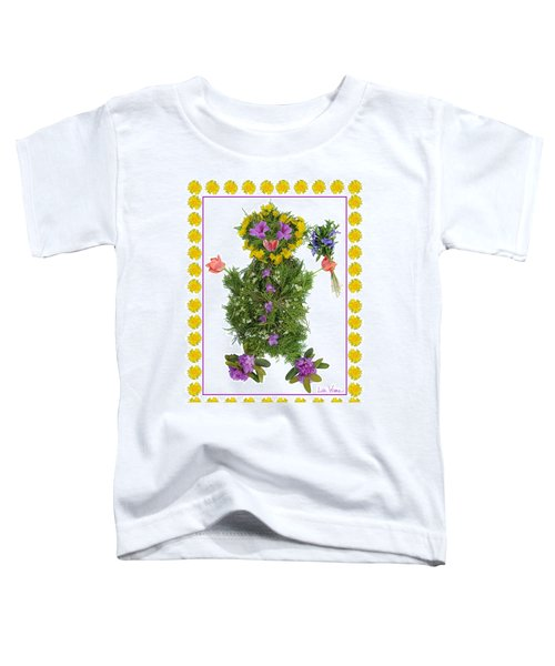 Flower Baby Toddler T-Shirt
