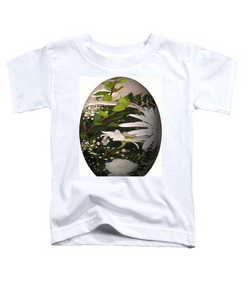 Flower Egg Toddler T-Shirt