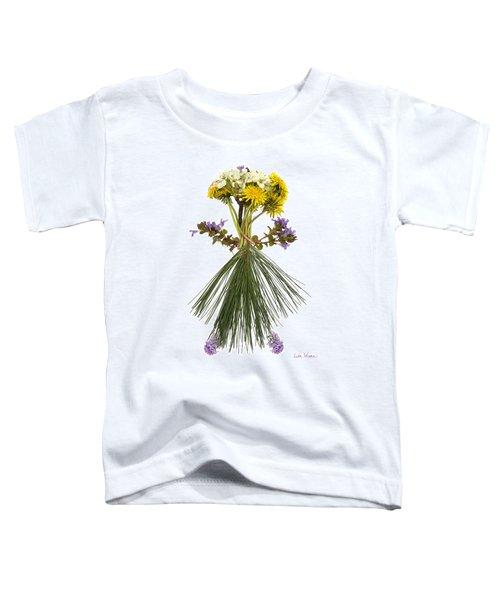 Flower Head Toddler T-Shirt