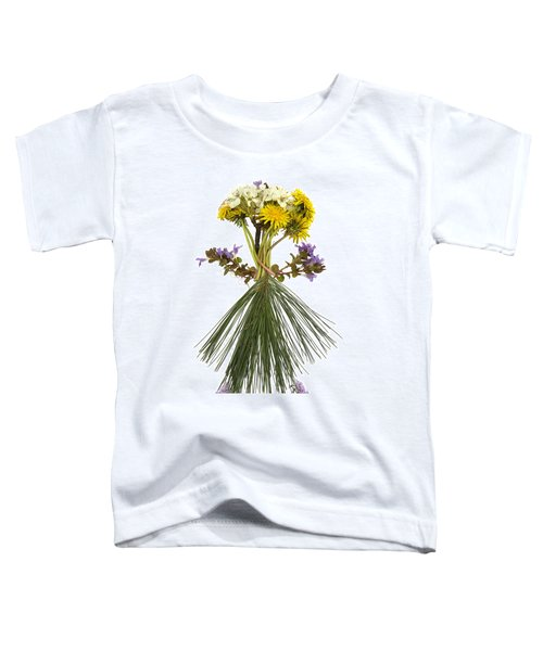 Flower Head Toddler T-Shirt