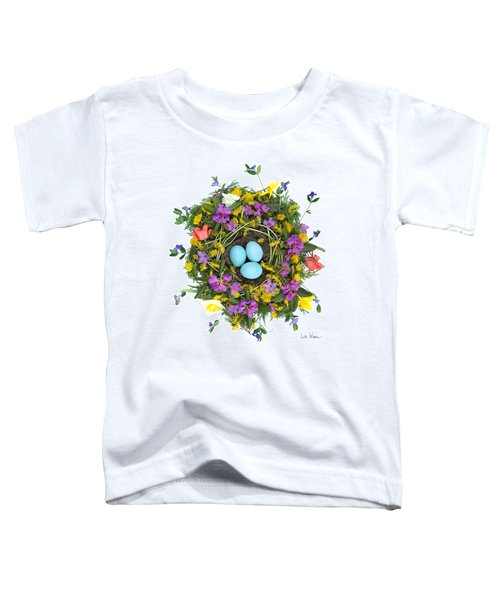Flower Nest Toddler T-Shirt
