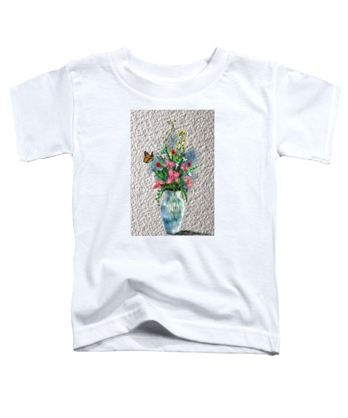 Flower Study Three Toddler T-Shirt
