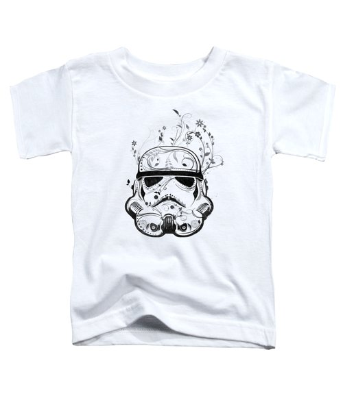 Flower Trooper Toddler T-Shirt by Nicklas Gustafsson