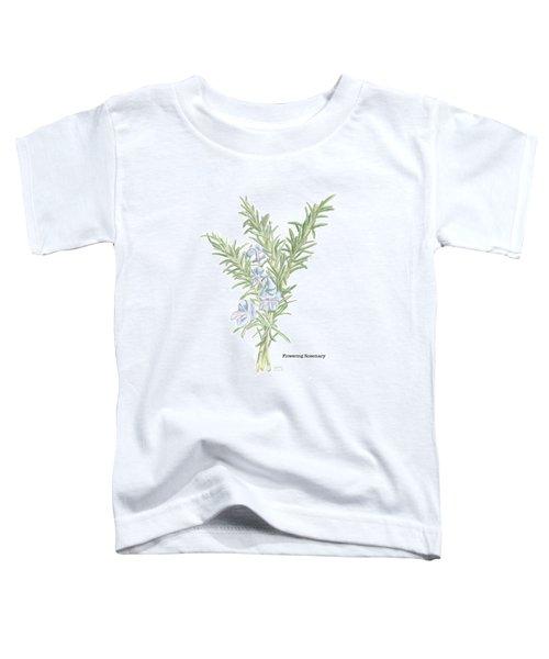 Flowering Rosemary Toddler T-Shirt