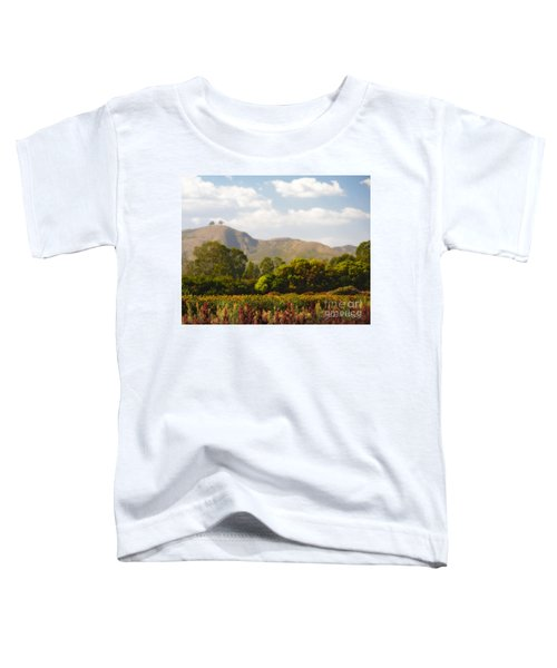 Flowers And Two Trees Toddler T-Shirt