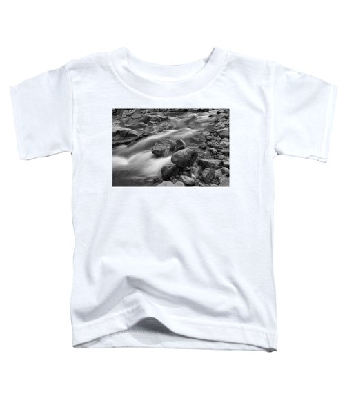 Toddler T-Shirt featuring the photograph Flowing Rocks by James BO Insogna