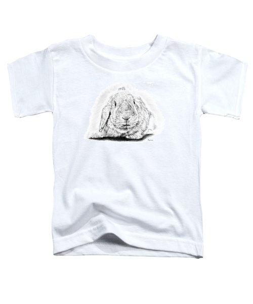 Fluffy Bunny Toddler T-Shirt