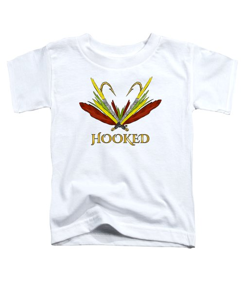 Fly Fishing Toddler T-Shirt by Devon LeBoutillier