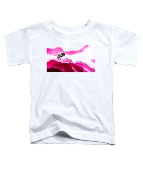Fly Man's Floral Fantasy Toddler T-Shirt