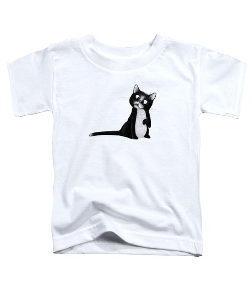 Fly On Cat Toddler T-Shirt