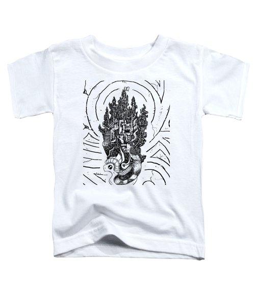 Flying Castle Toddler T-Shirt
