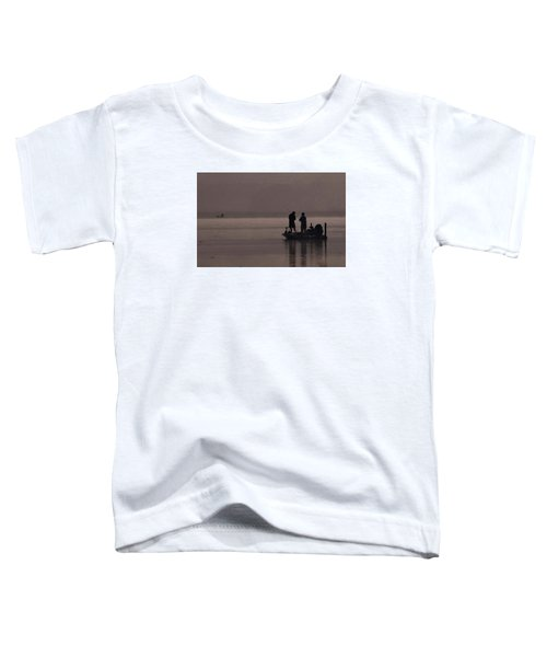Foggy Fishing Toddler T-Shirt