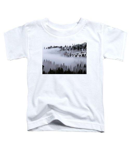 Foggy Mountain Pass Toddler T-Shirt