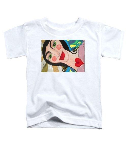 Folk Goddess Angel Toddler T-Shirt