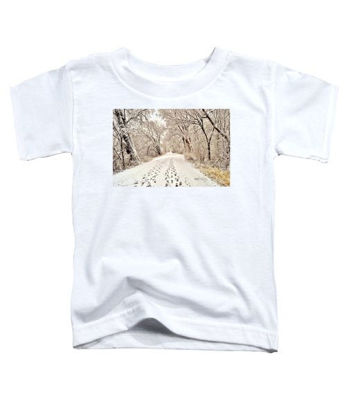Footprints  Toddler T-Shirt
