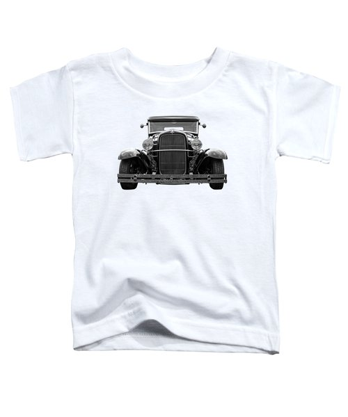 Ford Coupe Head On In Black And White Toddler T-Shirt