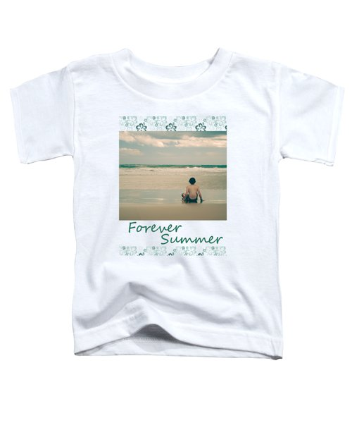 Toddler T-Shirt featuring the photograph Forever Summer 7 by Linda Lees