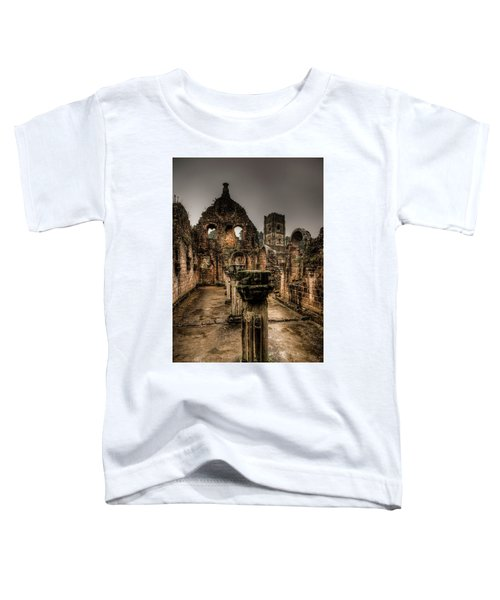 Fountains Abbey In Pouring Rain Toddler T-Shirt