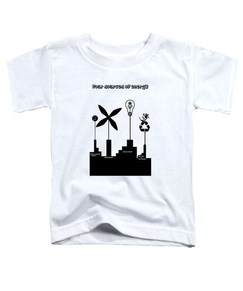 Four Energy Source Toddler T-Shirt