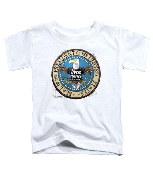 Fox News Presidential Seal Toddler T-Shirt