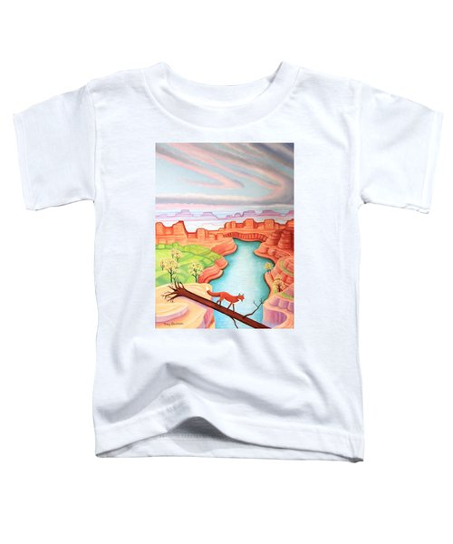 Fox Trotting Toddler T-Shirt
