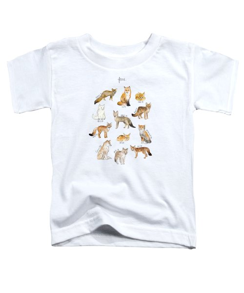 Foxes Toddler T-Shirt