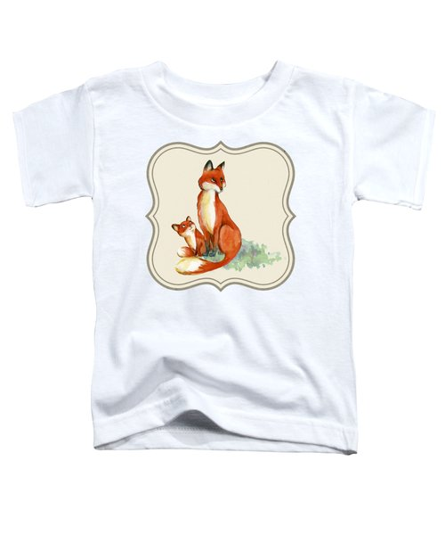 Foxy Babe And Mom Toddler T-Shirt
