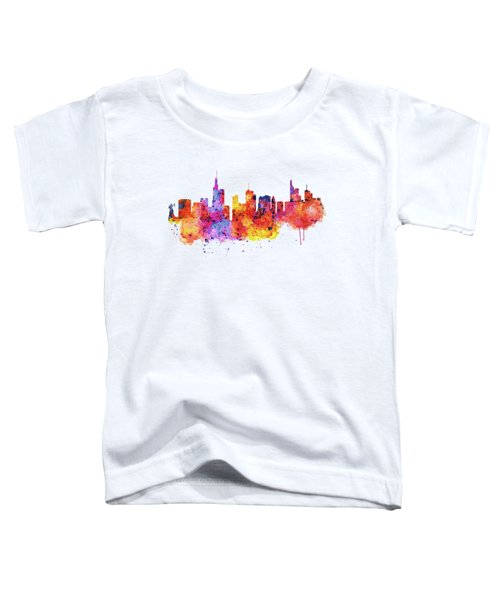 Frankfurt Skyline Toddler T-Shirt