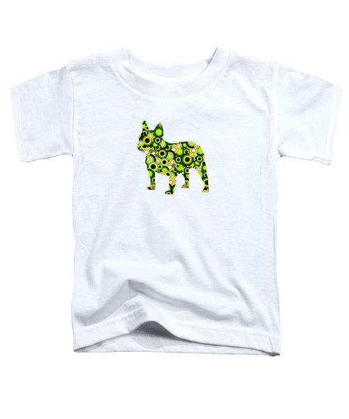 French Bulldog - Animal Art Toddler T-Shirt