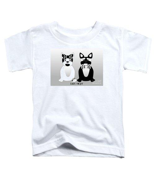 French Bulldog Date Night  Toddler T-Shirt