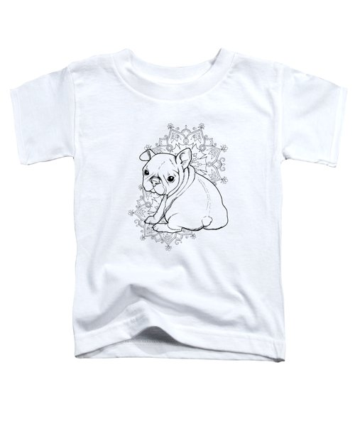 French Bulldog Puppy Toddler T-Shirt