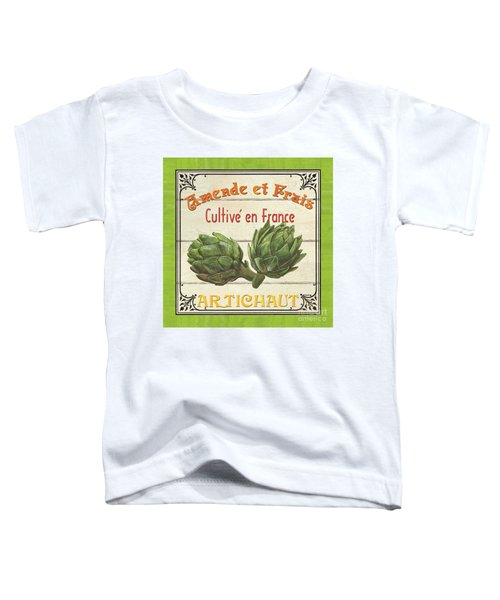 French Vegetable Sign 2 Toddler T-Shirt by Debbie DeWitt