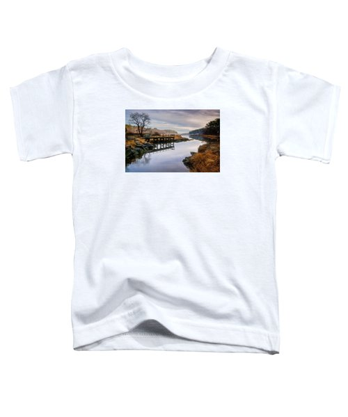 Frenchman's Pier Gloucester Toddler T-Shirt