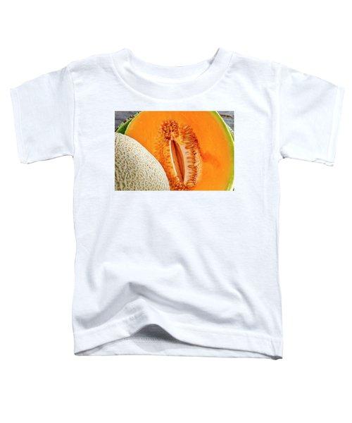 Fresh Cantaloupe Melon Toddler T-Shirt
