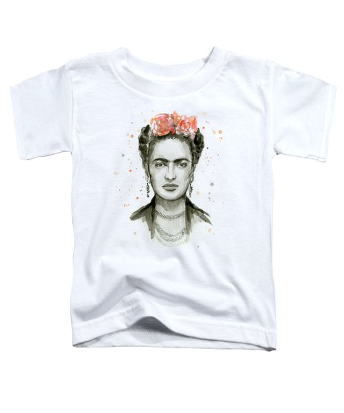 Frida Kahlo Portrait Toddler T-Shirt