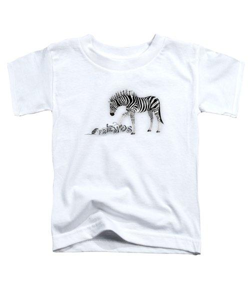 Friends Toddler T-Shirt by Jutta Maria Pusl