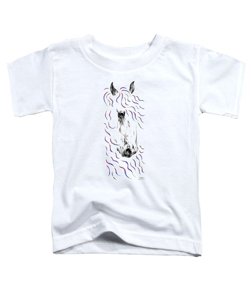 Friesian Horse Nobility Toddler T-Shirt
