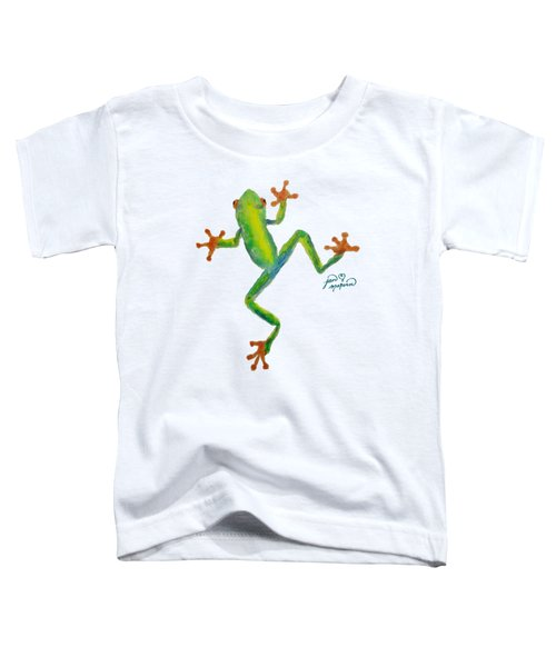 Red Eyed Tree Frog By Jan Marvin Toddler T-Shirt by Jan Marvin