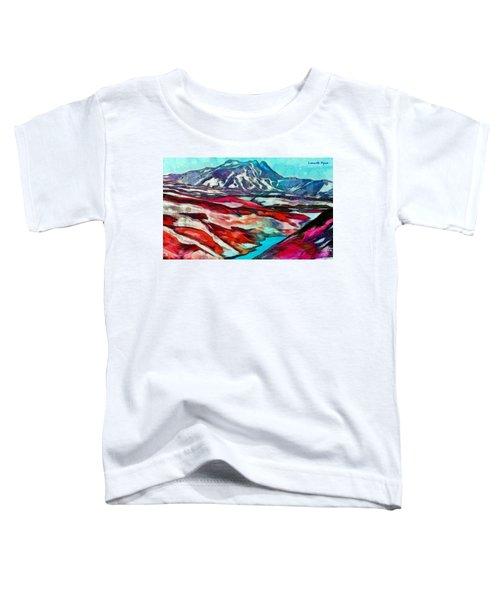 Frozen Desert - Da Toddler T-Shirt
