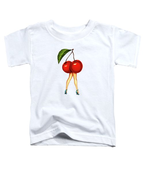 Fruit Stand- Cherry Toddler T-Shirt