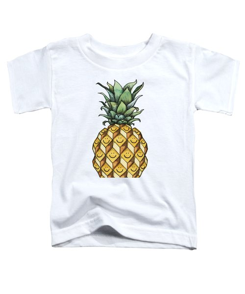 Fruitful Toddler T-Shirt by Kelly Jade King
