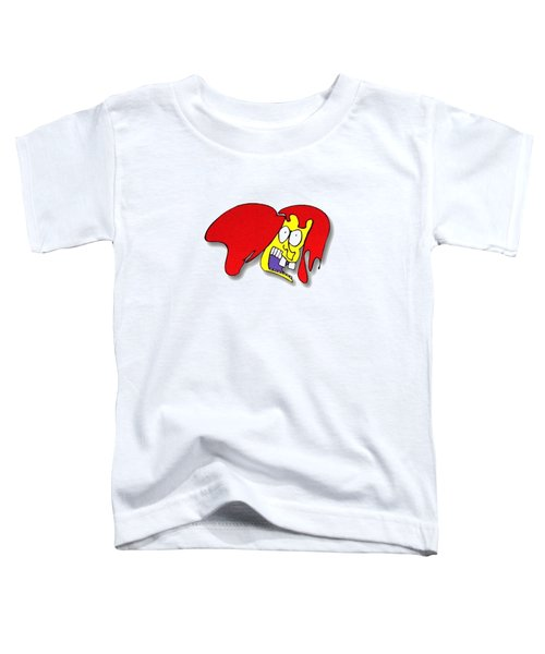 Fu Party People - Peep 002 Toddler T-Shirt by Dar Freeland